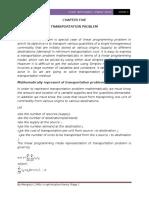CHAPTER Five Transiportation Problem.docx