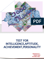 test for intelligence