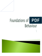 Chapter 9 - Foundations of Group Behavior