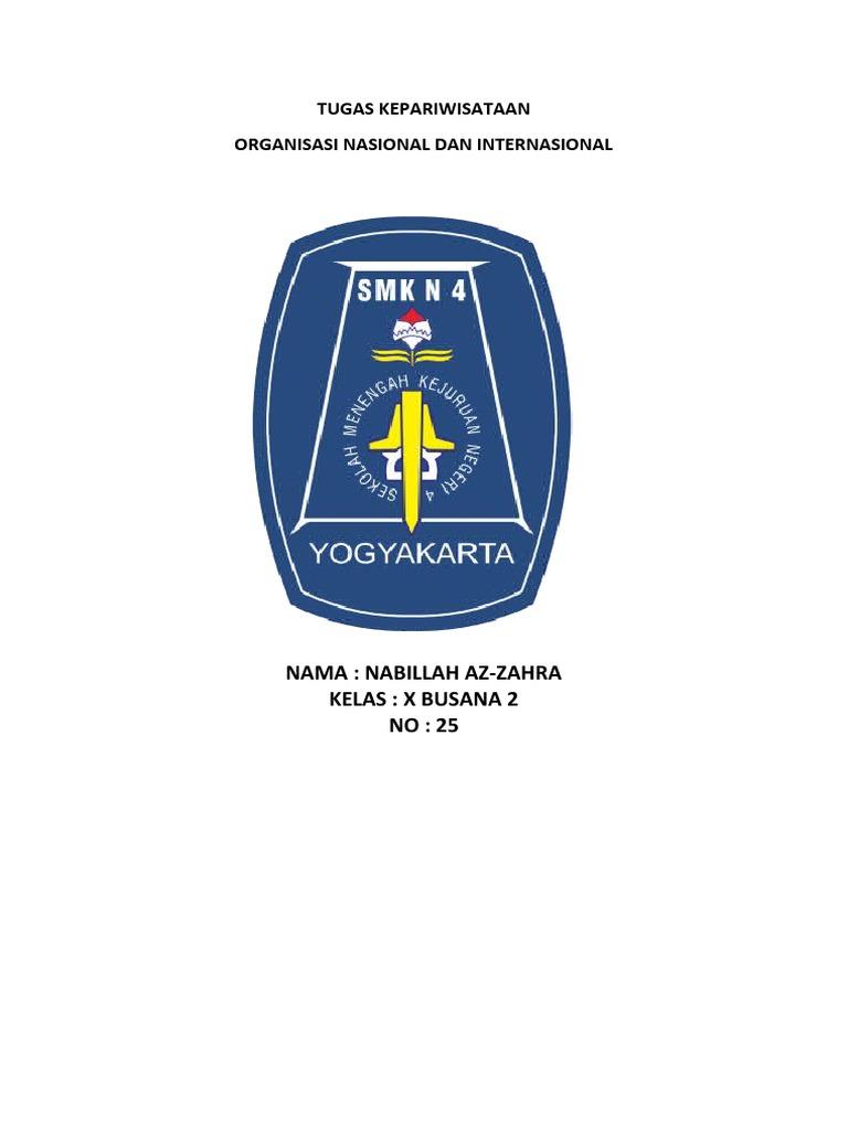 Organisasi Kepariwisataan Nasional Indonesia.docx
