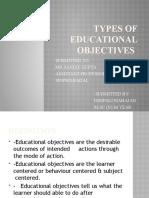 slides of types of edu obje
