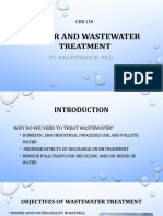 Lec4 Water and Wastewater Treatment