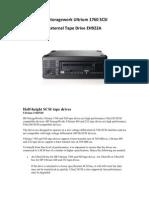 HP Storage Work Ultrium 1760 SCSI