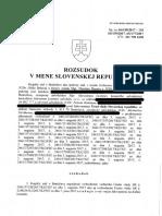 KS BA Rozsudok Sp.zn. 6S 158 2017