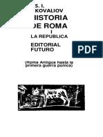 Historia de Roma 1 - Kovaliov