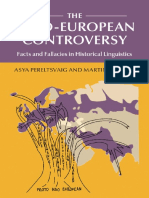 The Indo-European Controversy - Asya Pereltsvaig,Martin W. Lewi