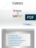 SBOeConnect 2.0 E-Commerce Evolves with SAP Business One and Magento