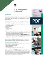 enterprise management styles