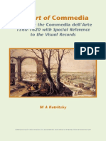 M. A. Katritzky - The Art of Commedia_ A Study in the Commedia dell'Arte, 1560-1620, with Special Reference to the Visual Records (Internationale Forschungen zur Allgemeinen und Vergleichende) (2006) (1).pdf