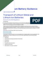 LITHIUM BATTERIES GUDANCE -IATA 2020.pdf