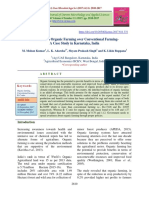 Economics of Organic Farming over Conventional FarmingA Case Study in Karnataka, India