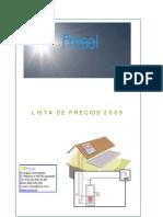 Catalogo Termo Solar FRESOL