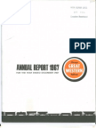 CGW 1967 Annual Report