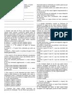 AVALIAÇÃO PARCIAL DE FÍSICA - 3º ANO  - ELETROSTÁTICA