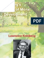kohlbergs theory of moral development