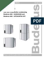 Buderus GB 112  User Manual