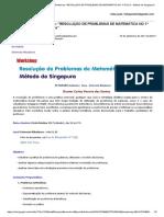 Gmail - 2ª Edição - Porto - Workshop_ _RESOLUÇÃO DE PROBLEMAS DE MATEMÁTICA NO 1º CICLO - Método de Singapura_