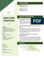 (CV) Agus R Syaputra
