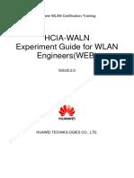 HCIA-WLAN V2.0 Experiment Guide(WEB-based)