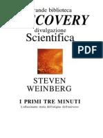 Weinberg Steven - I Primi Tre Minuti