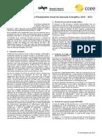 Boletim Tecnico EPE-ONS-CCEE - Previsão de Carga para o Planejamento Anual da Operação Energética - 2018-2022