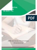 1° SEMESTRE ADM e CCO 2020 - A empresa Green Trash