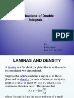 Application of Double Integration (19194113 - Ritik Gupta) - Copy.ppt