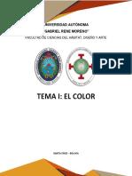 Informe_tema el Color