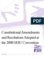 Adopted Convention Resolutions