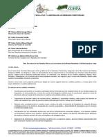 Carta de Comision Etnica Frente a Pandemia 30-03-2020