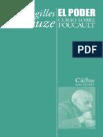 Gilles Deleuze - Curso sobre Foucault. Tomo II - El poder.pdf