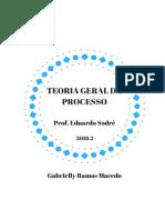 Teoria Geral do Processo - Sodré