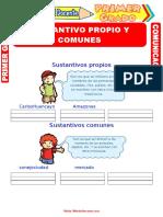 Sustantivos-Propios-y-Comunes-para-Primero-de-Primaria
