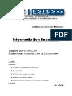 Instruments marché financier
