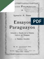 Ensayos paraguayos (Coleccion Panamericana)