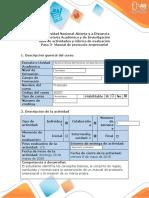 Guia de actividades y rubrica de evaluacion - Paso 3- Manual de protocolo empresarial.docx