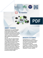 A Transko Company E-brochure 2016