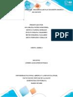 Fase 2 _Planificar _Desarrollar plan de diseño modelo de gestión_ GRUPO 3