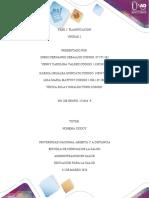 Unidad 1 Fase 2 Planificación (Foro de discusión)....
