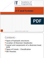 Unit-4 Canal Systems