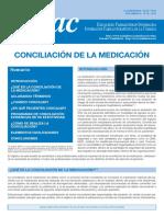 conciliación de medicamentos