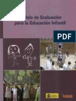 Modelo de evaluación para la educación Infantil