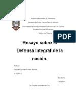 Carlos Silva - Ensayo sobre Defensa Integral de la Nación