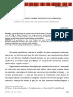 Luis Bueno - Solidão e o consenso crítico
