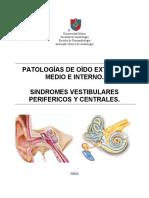 Patologias OE, OM, OI _ Sindromes vestibulares y perifericos