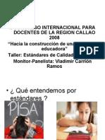 ESTANDARES DE CALIDAD EDUCATIVA