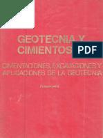 Cimentaciones - Geotecnia y Cimientos III Jimenez Salas