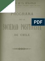Sociedad Positivista Chile