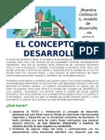 GUIA 1 ECON ONCE - EL DESARROLLO