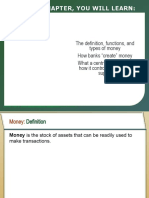Money Supply and its components